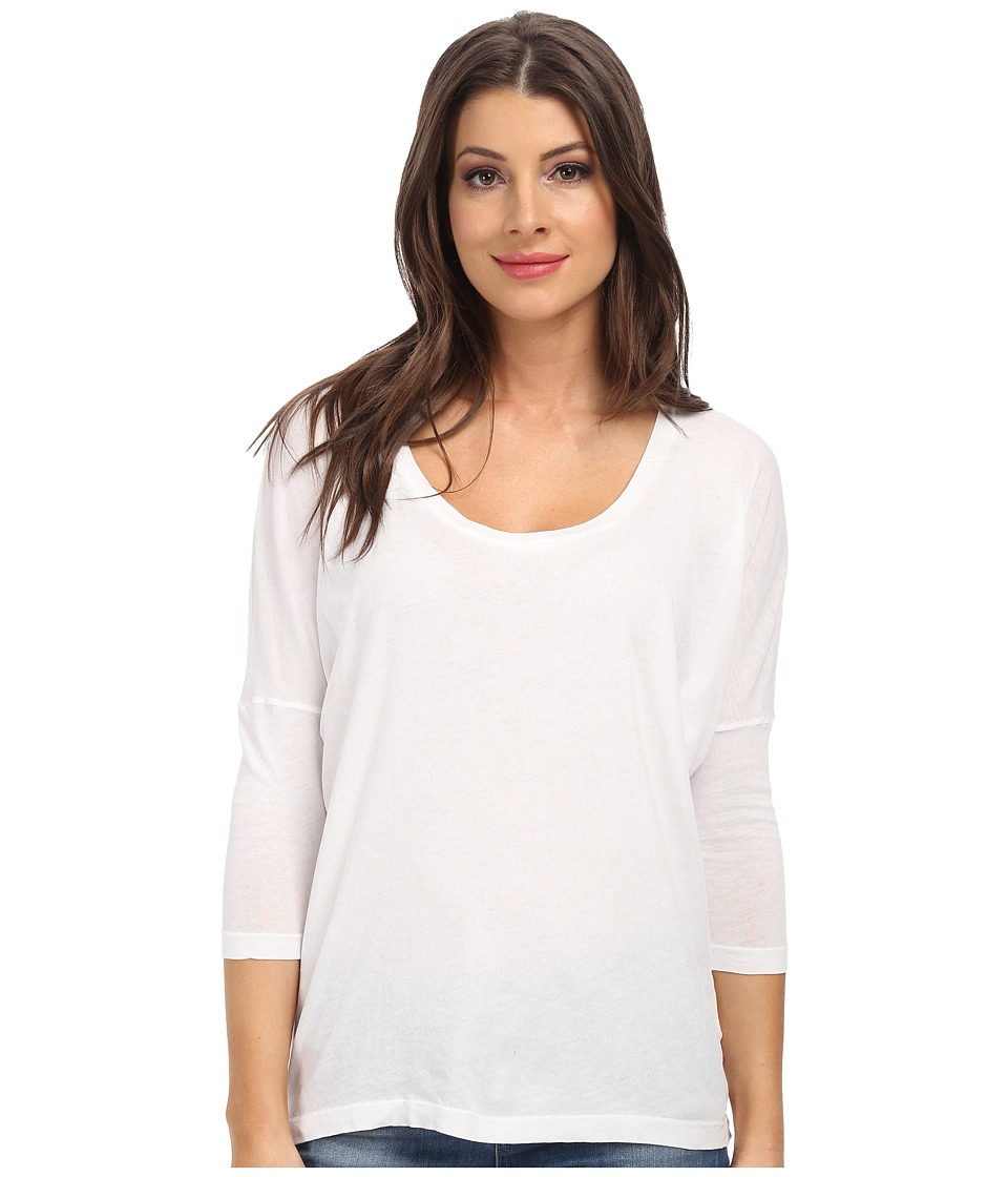 C&C California - 3/4 Sleeve Dolman (White) Women