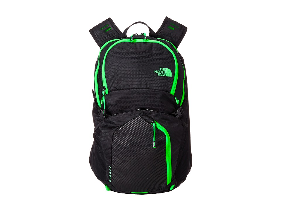 The North Face - Pocono (Krypton Green/TNF Black) Backpack Bags