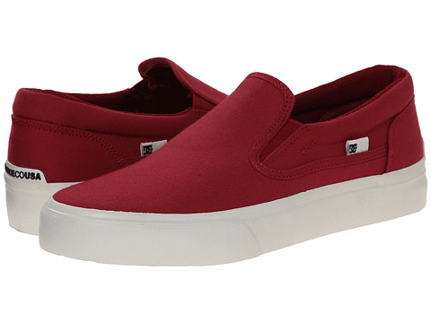 DC - Trase Slip-On TX (Jester Red) Women