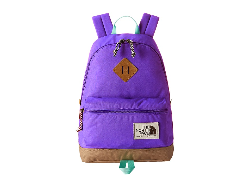 The North Face - Mini Berkeley (Little Kid/Big Kid) (Starry Purple/Surf Green) Backpack Bags