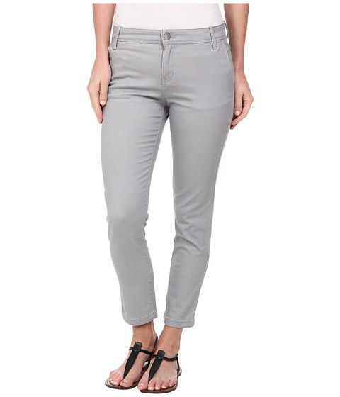 Calvin Klein Jeans - Abbreviated Crop Straight Leg Pant (Urban Grey) Women's Casual Pants
