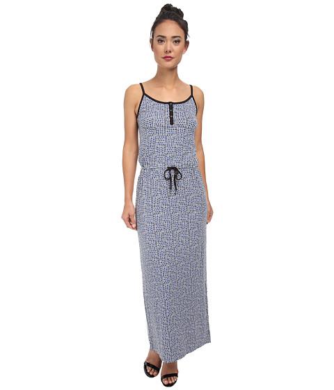 Calvin Klein Jeans - Printed Cinched Waist Maxi (Splendor) Women's Dress