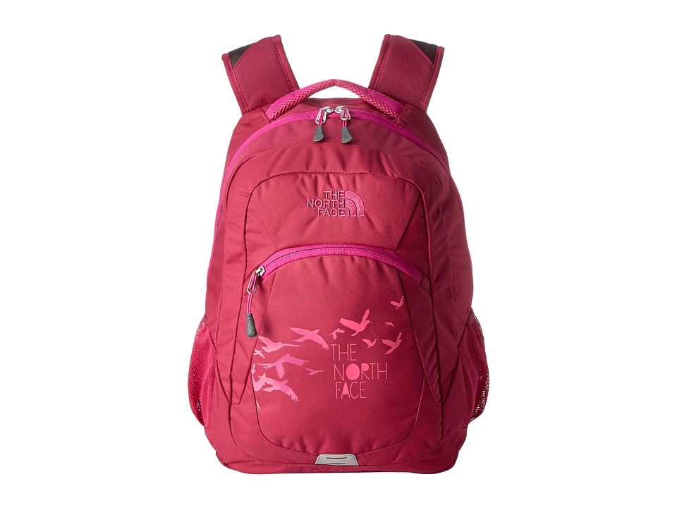 The North Face - Haystack (Dramatic Plum/Luminous Pink) Backpack Bags