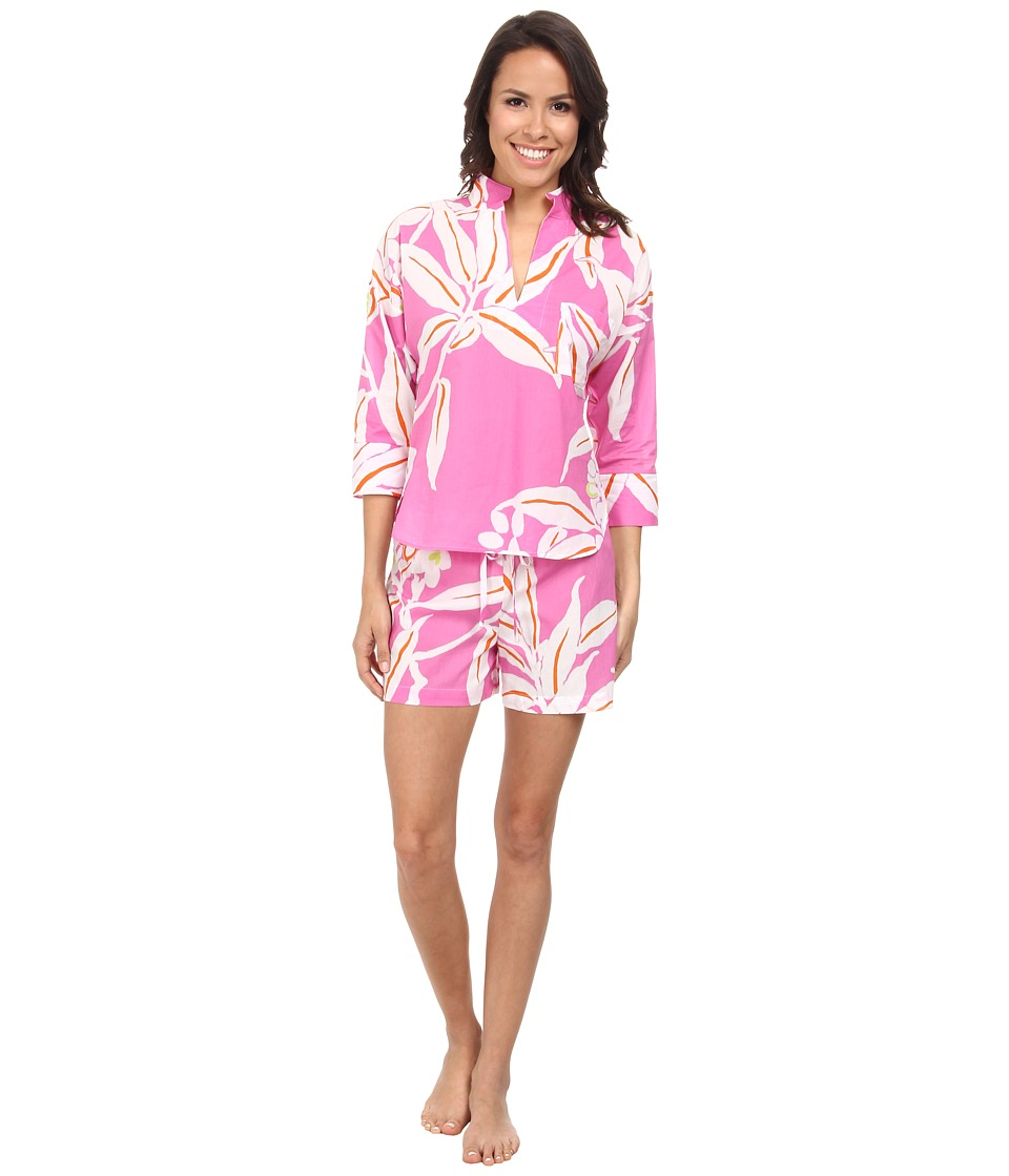 N by Natori - N Natori Pullover PJ w/ Shorts (Party Pink) Women's Pajama Sets