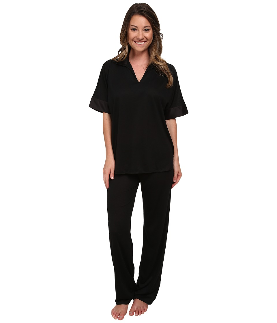 N by Natori - N Natori Tunic PJ (Black) Women's Pajama Sets