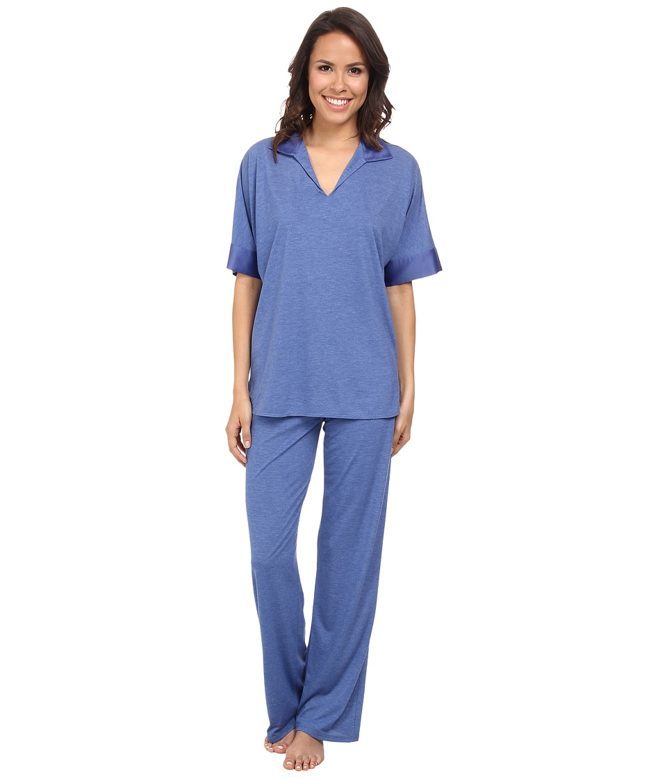 N by Natori - N Natori Tunic PJ (Azure Blue) Women's Pajama Sets