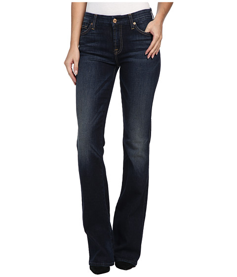 7 For All Mankind - Kimmie Bootcut in Alpine Blue (Alpine Blue 2) Women