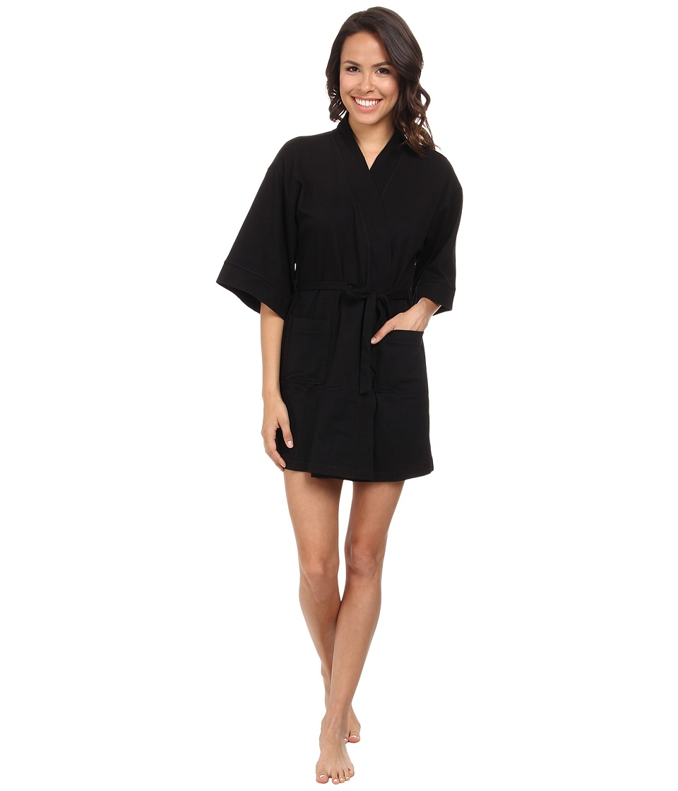 N by Natori - N Natori Aura Robe 35 (Black) Women's Robe