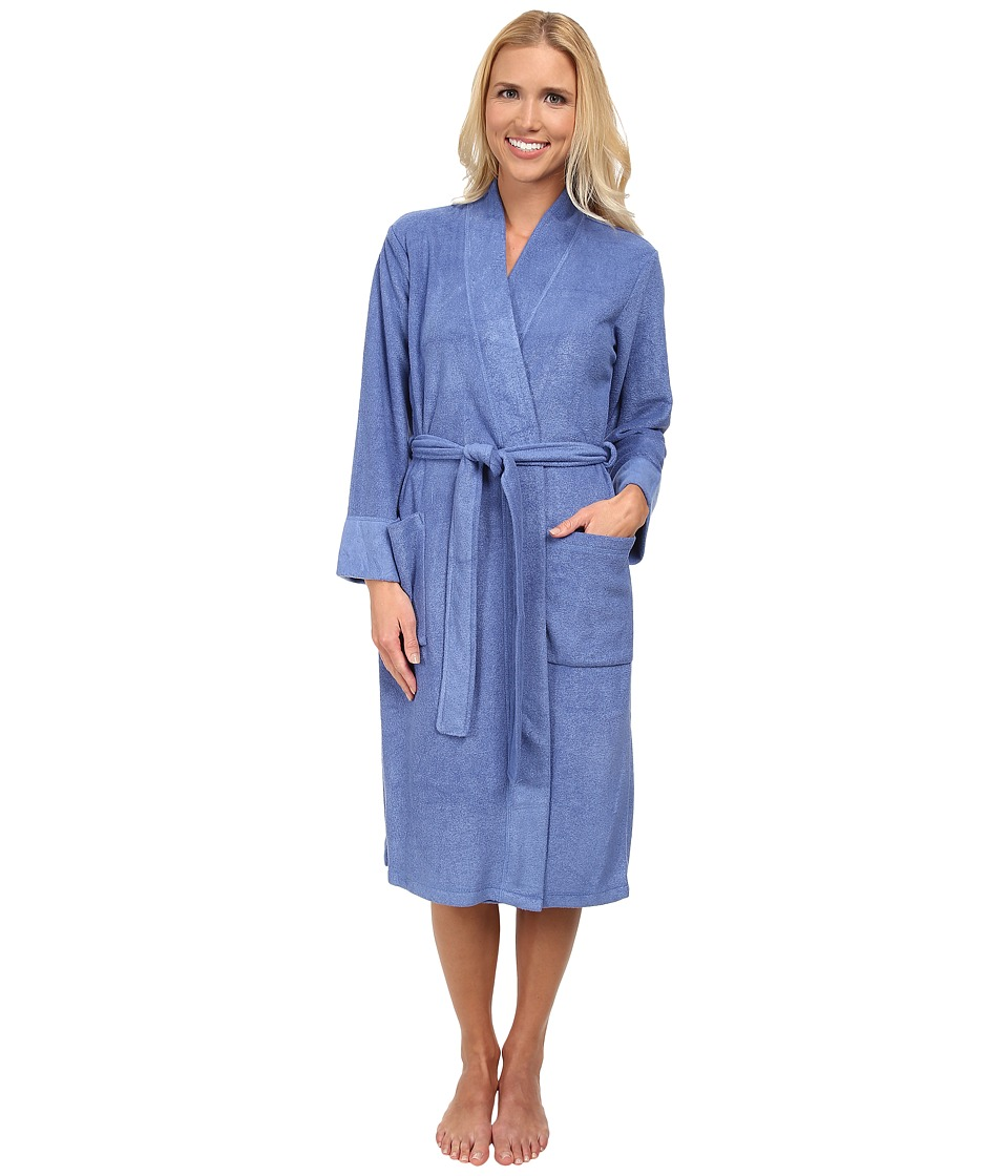 N by Natori - N Natori Brushed Terry Nirvana Robe (Azure) Women