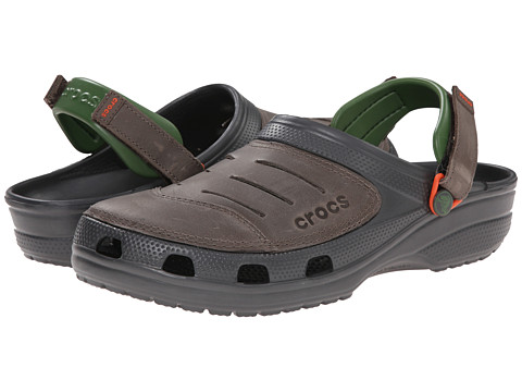 Crocs - Yukon (Graphite/Pewter) Men's Clog Shoes
