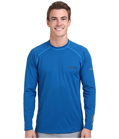 XCEL Wetsuits - XLR8R Performance VENTX L/S (Nautical Blue) Men