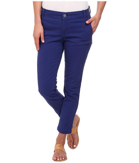Calvin Klein Jeans - Abbreviated Crop Straight Leg Pant (Deep Cobalt) Women