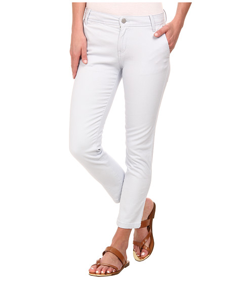 Calvin Klein Jeans - Abbreviated Crop Straight Leg Pant (Sapphire Ice) Women's Casual Pants