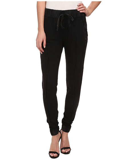 Calvin Klein Jeans - Acid Wash Skinny Jogger (Black) Women's Casual Pants
