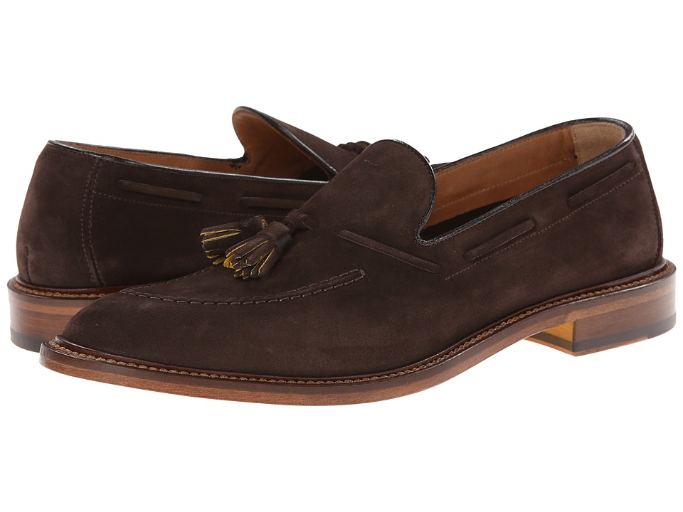 Doucal's - Suede Tassel Loafer (T. Moro) Men's Slip on Shoes