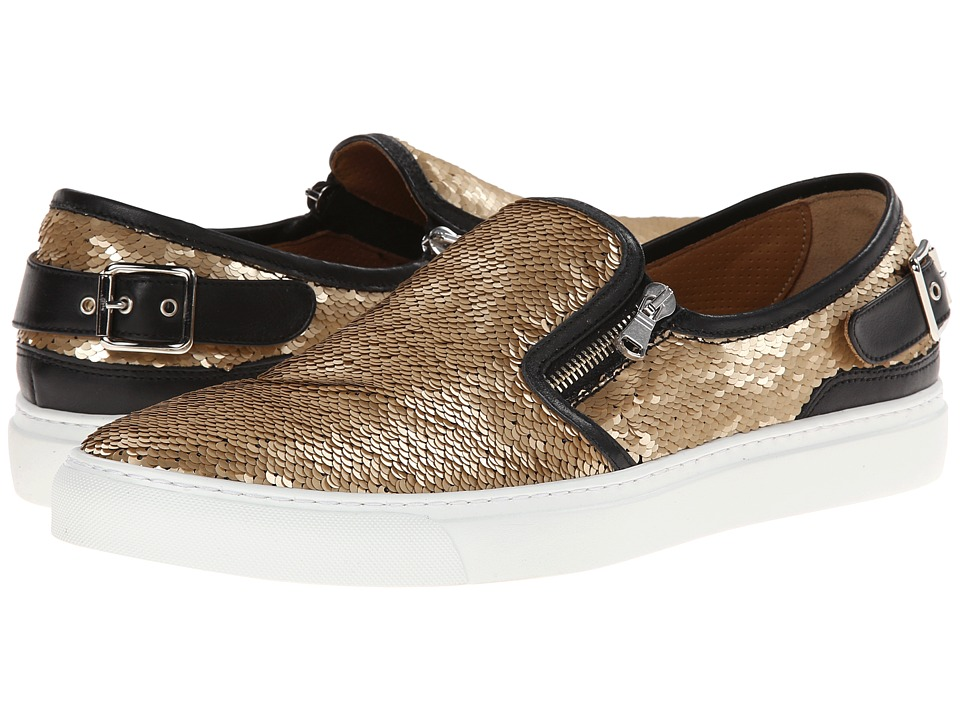 Doucal's - Slip-On Sequin Sneaker (Gold) Men's Slip on Shoes