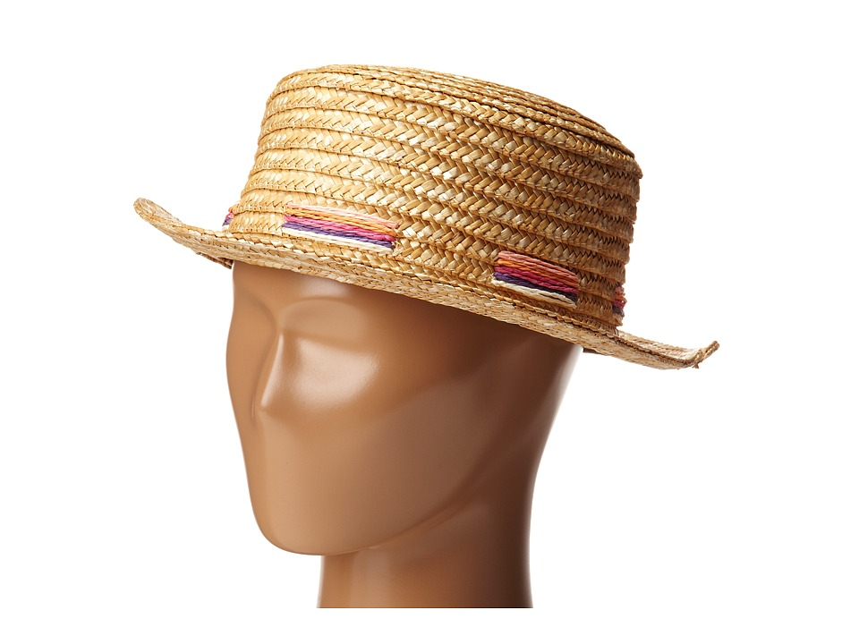 BCBGeneration - Laced Boater (Nautral) Caps