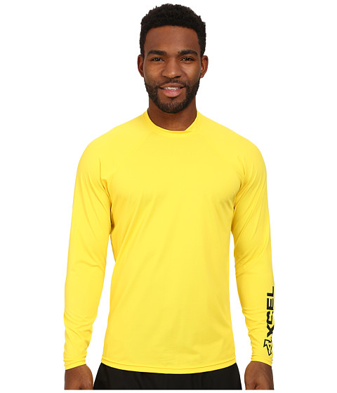 XCEL Wetsuits - Signature L/S VENTX UV (Life Guard Yellow) Men's Swimwear