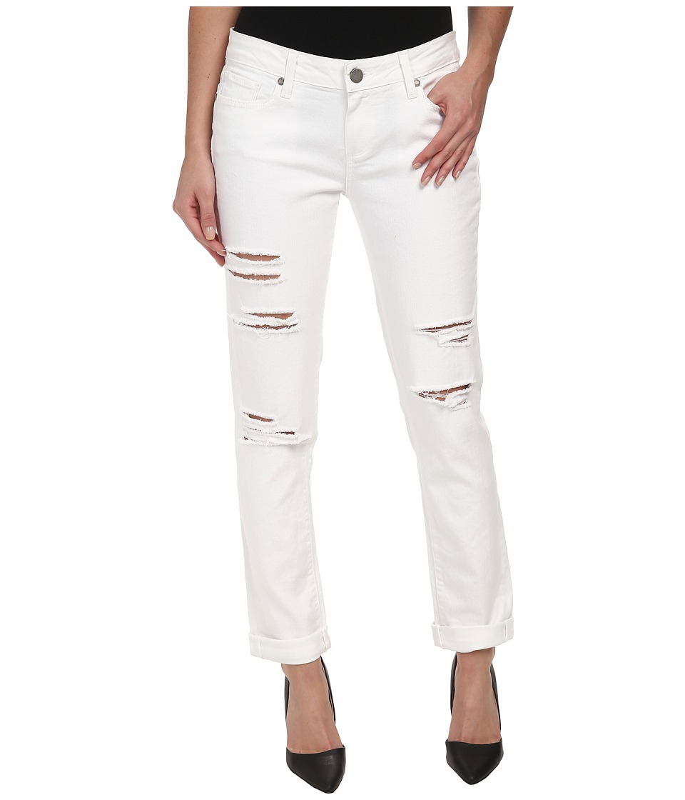 Paige - Jimmy Jimmy Skinny in Blanca Destructed (Blanca Destructed) Women's Jeans
