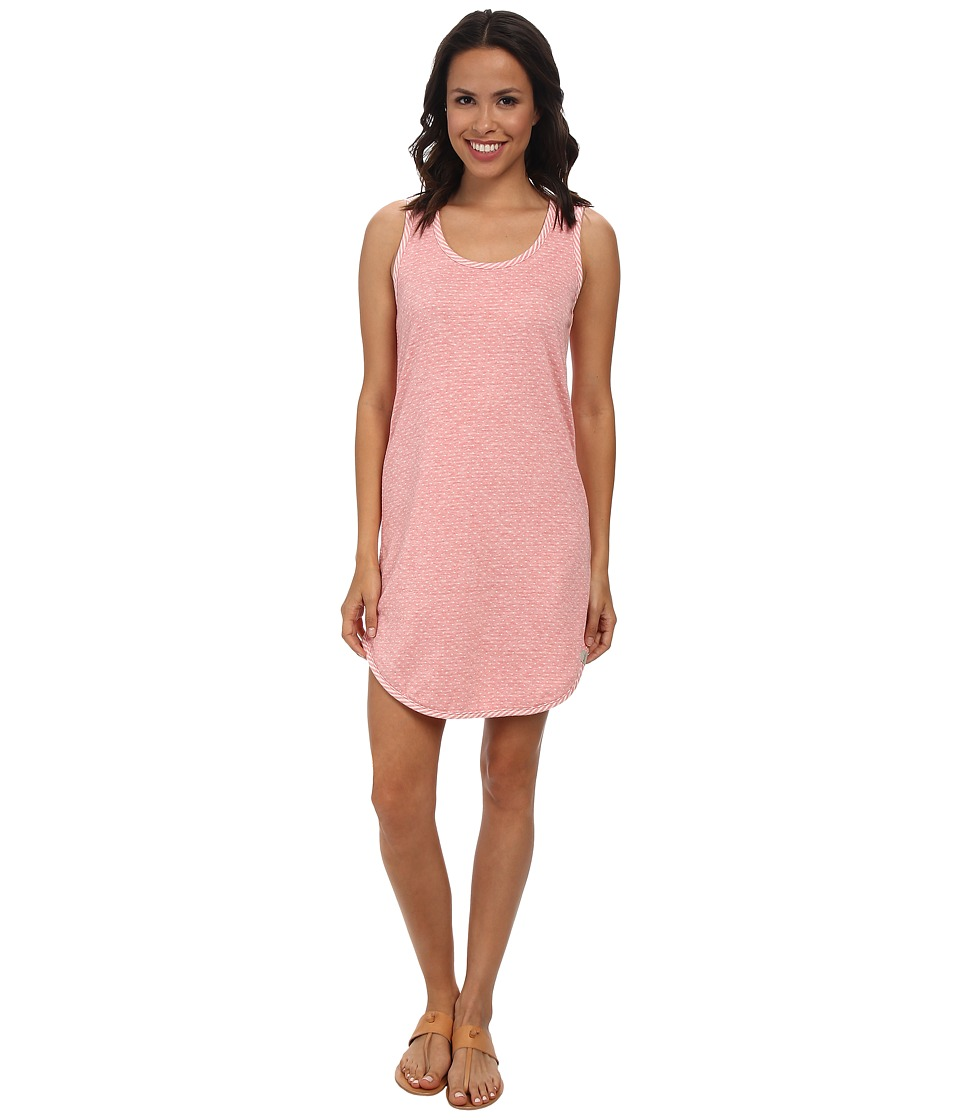 Mod-o-doc - Reversible Double Knit Tank Dress (Coral) Women's Dress