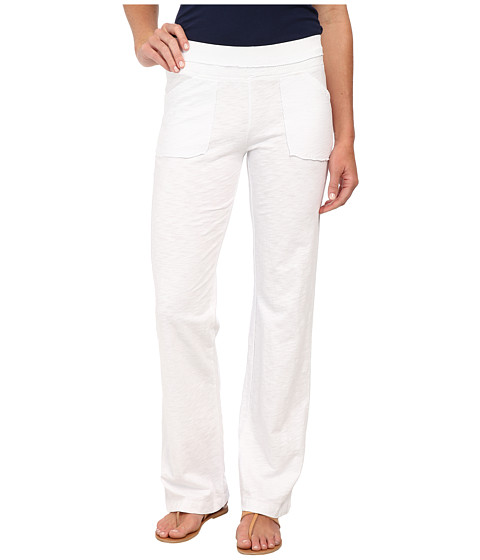 Mod-o-doc - Straight Leg Pant (White) Women's Casual Pants