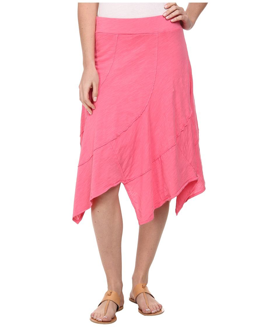 Mod-o-doc - Swirl Seam Hanky Hem Skirt (Gumdrop) Women's Skirt