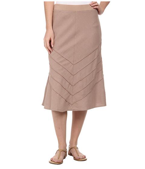 Mod-o-doc - Linen Rayon (Flax) Women's Skirt