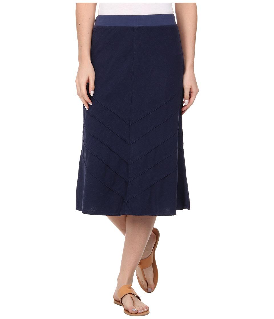 Mod-o-doc - Linen Rayon (New Navy) Women's Skirt