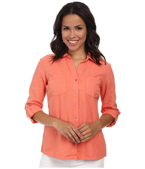 Mod-o-doc - Easy Button Front Shirt (Gelato) Women