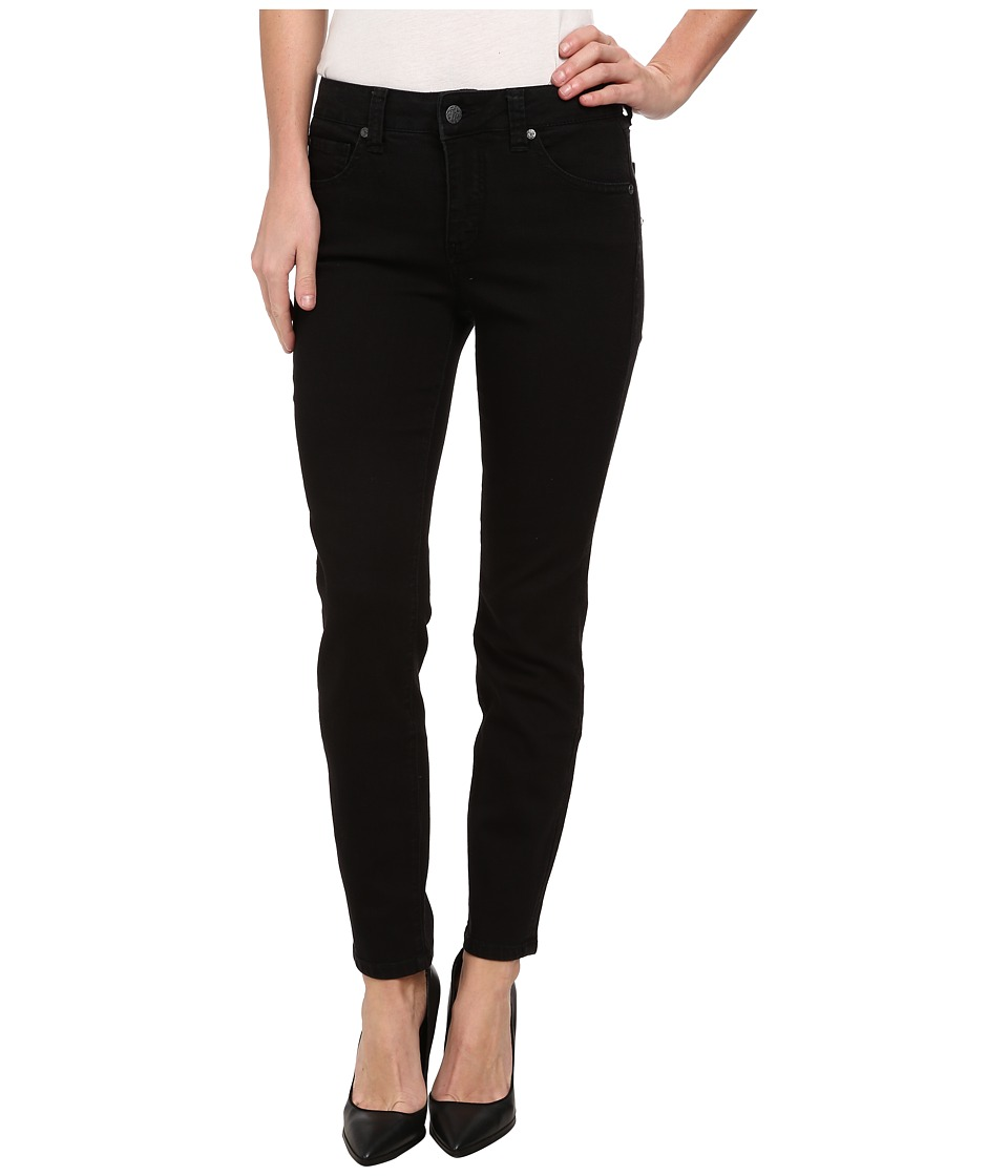 Miraclebody Jeans - Sandra D. Skinny Ankle in Jet (Jet) Women's Jeans