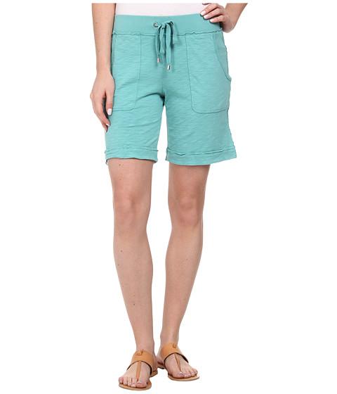 Mod-o-doc - Heavier Slub Jersey Pull-On Cuffed Short (Aegean) Women's Shorts