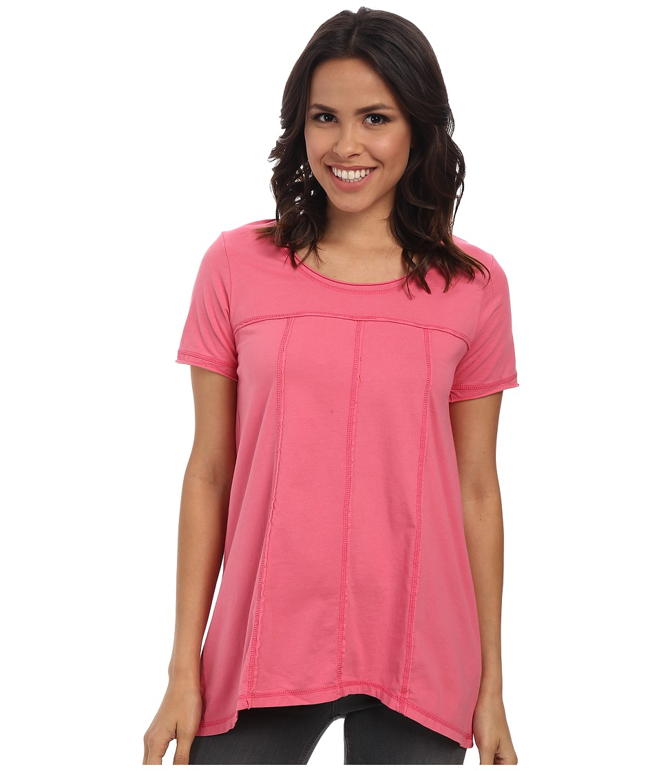Mod-o-doc - S/S Seamed Scoop Neck Tee (Gumdrop) Women's T Shirt
