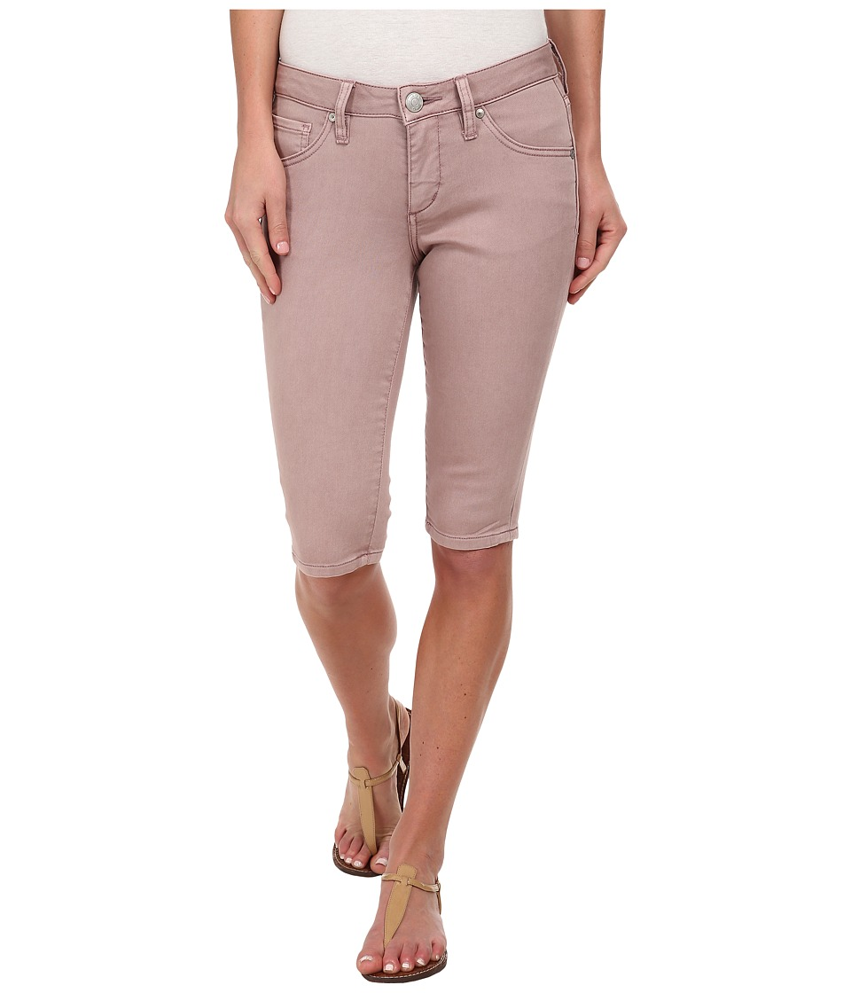 Jag Jeans - Robbie Bermuda Skinny in Plum Ice (Plum Ice) Women's Shorts plus size,  plus size fashion plus size appare