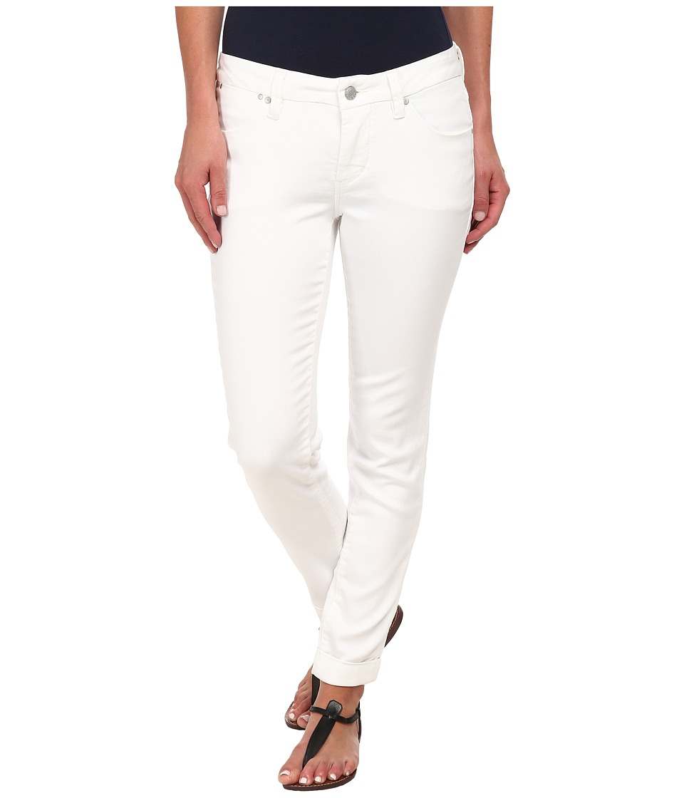 Jag Jeans - Erin Cuffed Slim Ankle in White (White) Women