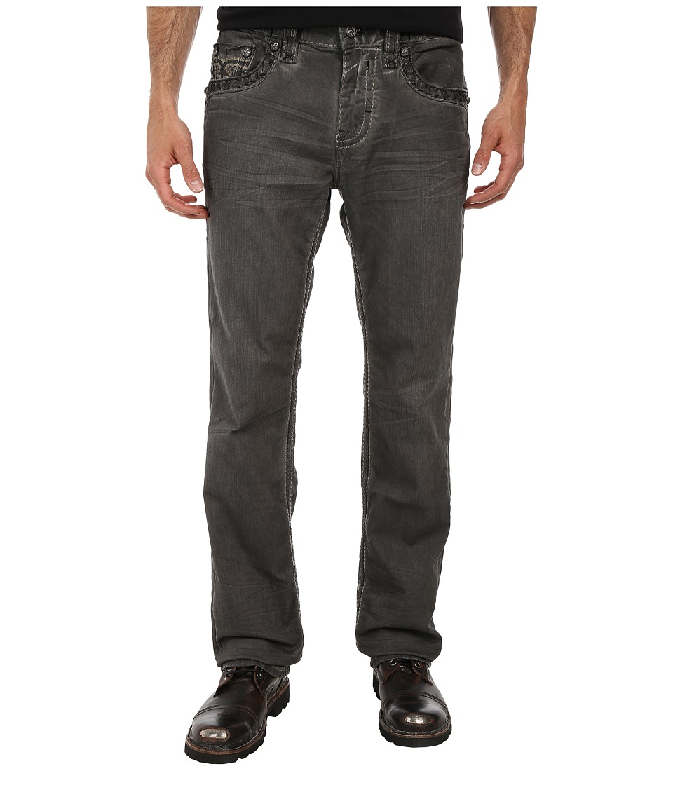 Rock Revival - Trenton J3 Straight in Grey (Grey) Men's Clothing