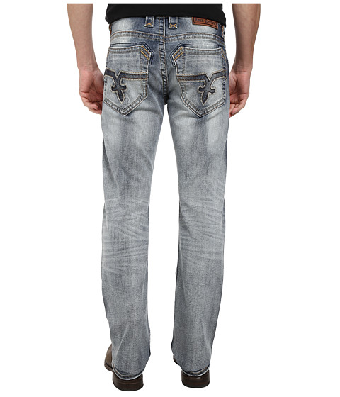 Rock Revival - Baelen A200 Alternative Straight in Light Indigo (Light Indigo) Men's Clothing