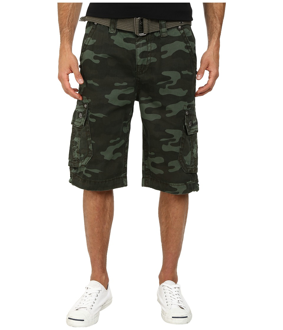 Rock Revival - Cargo Short in Forest Camo (Forest Camo) Men's Shorts