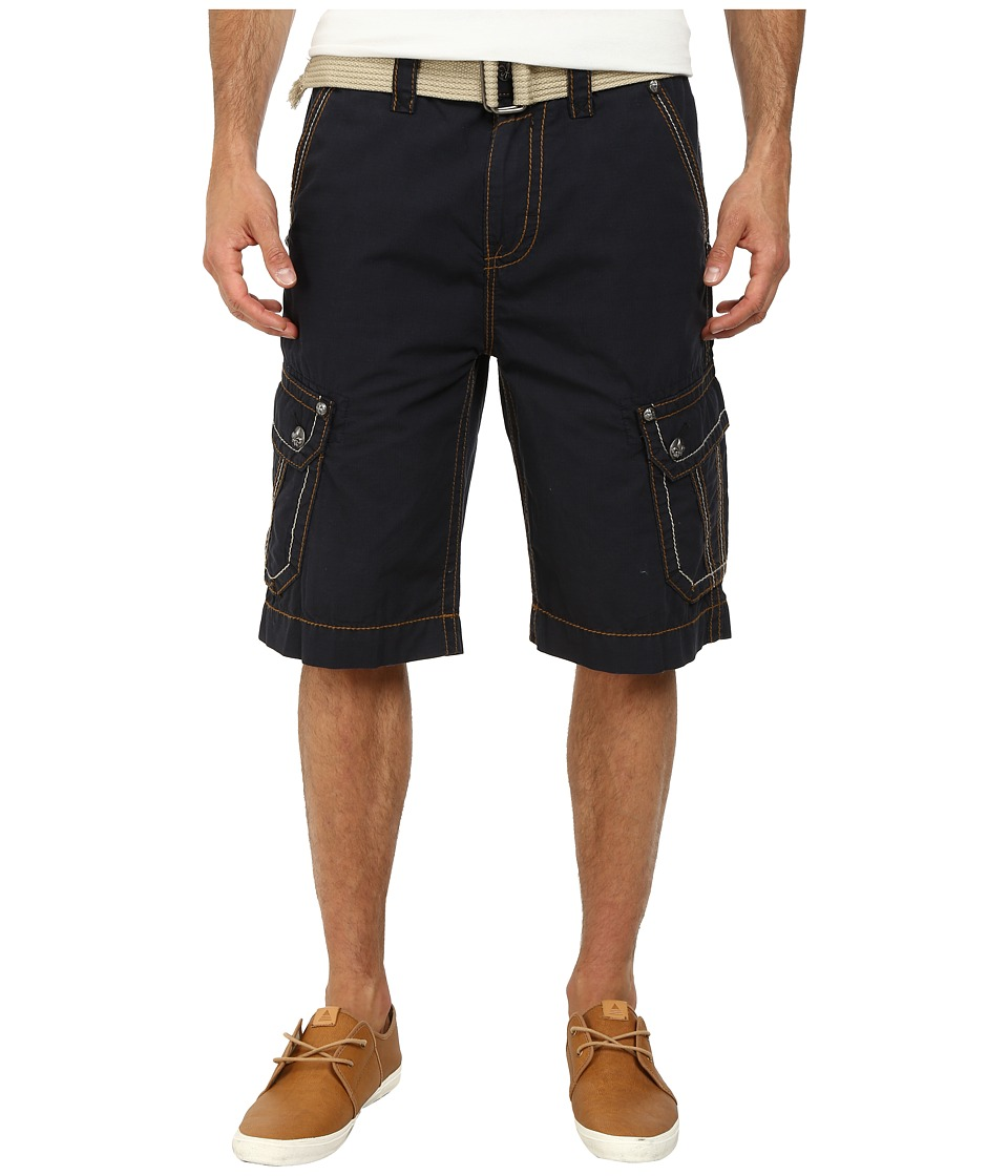 Rock Revival - Cargo Short in Navy (Navy) Men