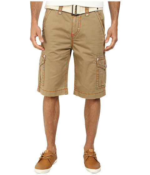 Rock Revival - Cargo Short in Khaki (Khaki) Men