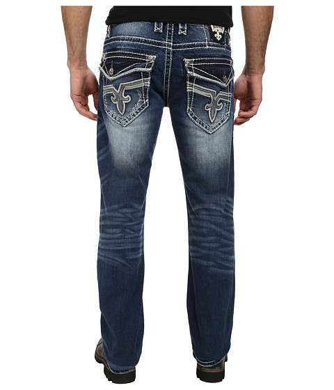 Rock Revival - Kartaly J5 Straight in Dark Indigo (Dark Indigo) Men