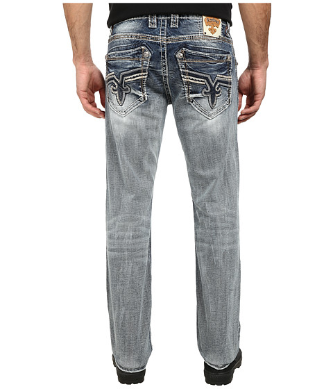 Rock Revival - Kaylen J3 Straight in Light Indigo (Light Indigo) Men's Clothing