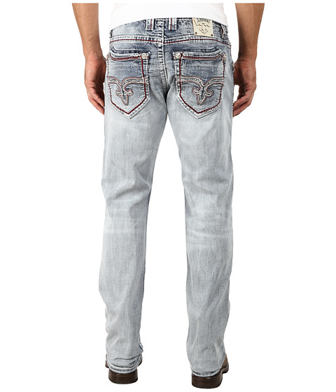 Rock Revival - Caiden J2 Straight in Light Indigo (Light Indigo) Men