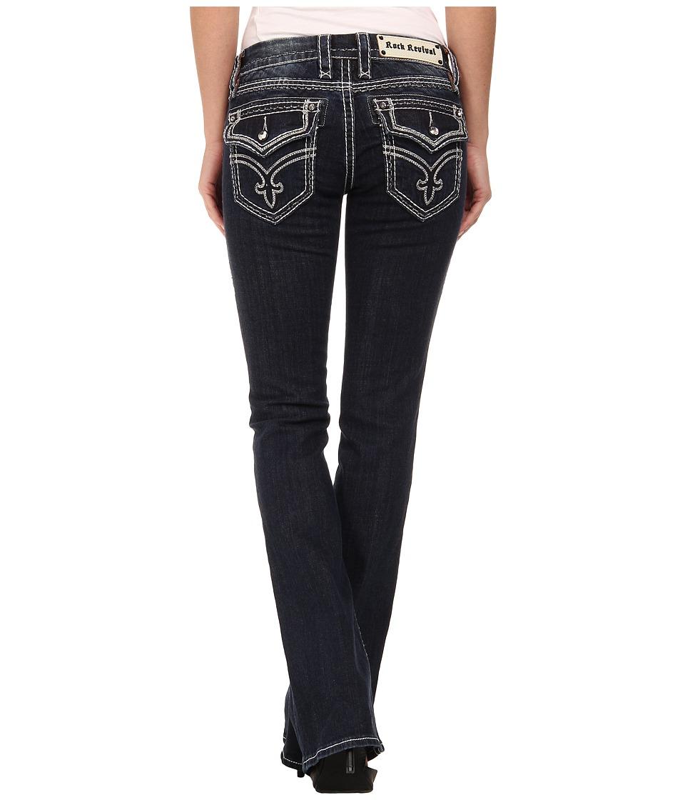 Rock Revival - Clover B11 Bootcut in Dark Indigo (Dark Indigo) Women's Jeans