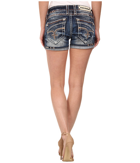 Rock Revival - Bruna H3 Short in Acid Wash (Acid Wash) Women