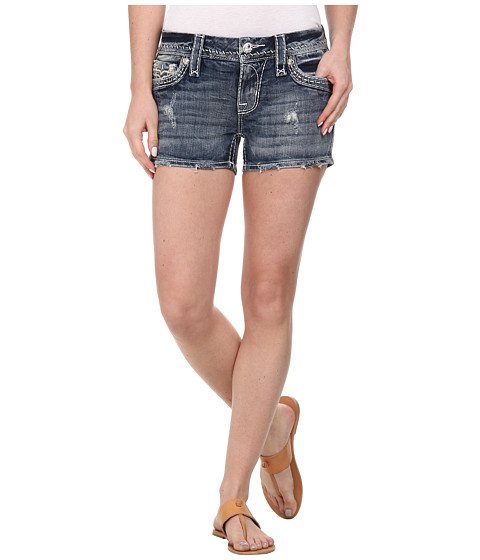 Rock Revival - Clover H8 Short in Dark Indigo (Dark Indigo) Women