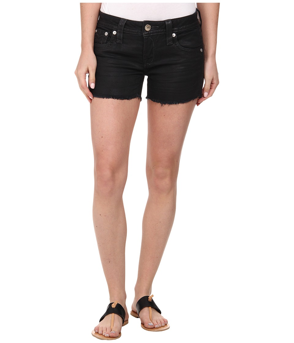 Rock Revival - Alayna H3 Short in Black (Black) Women's Shorts