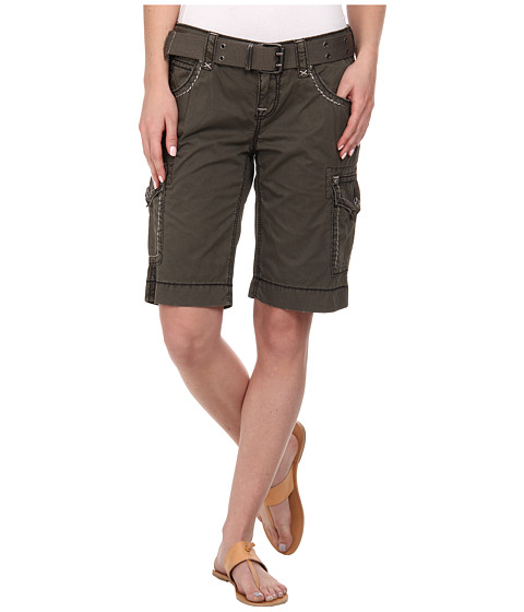 Rock Revival - Cargo Short in Olive (Olive) Women's Shorts