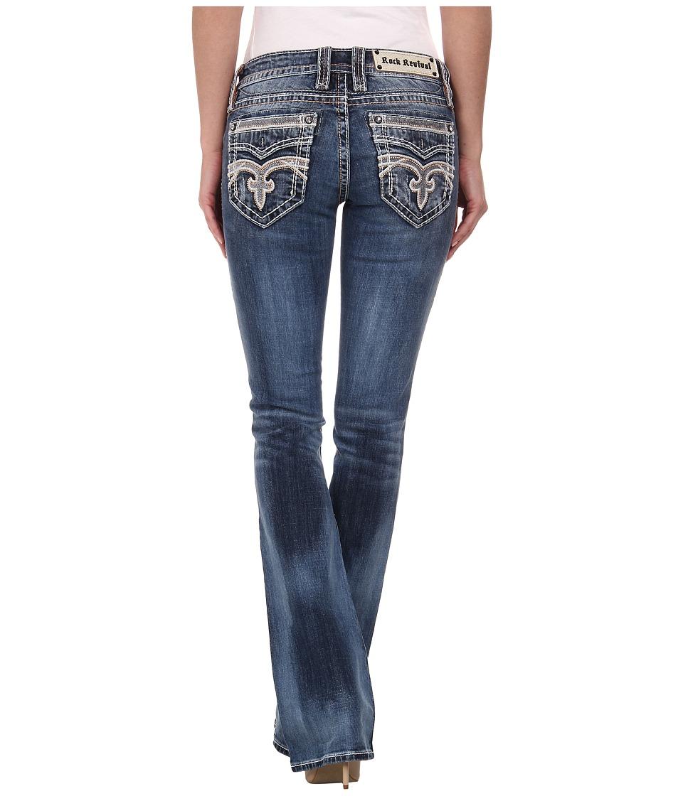 Rock Revival - Pilkin B8 Bootcut in Medium Indigo (Medium Indigo) Women's Clothing