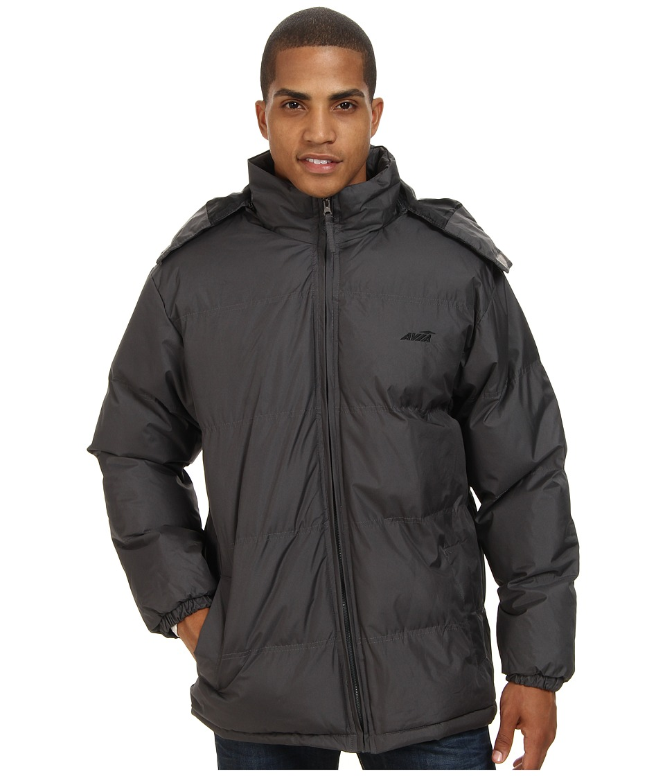 Avia - Bubble Jacket (Charcoal) Men's Coat