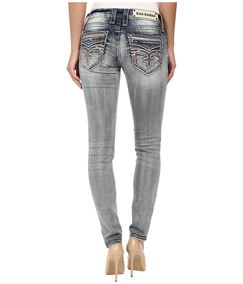 Rock Revival - Pilkin S7 Skinny in Medium Indigo (Medium Indigo) Women's Jeans